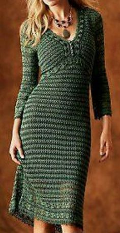 Ideas For Dress Pattern Long Ideas Crochet Bodycon Dresses, Summer Crop Tops, Signature Look, Crochet Woman, Crochet Fashion, Dress Patterns, Crocheting, Boho Fashion, Nice Dresses