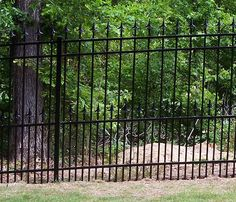 Metal Fence With Decorative Top Finials Garden Gates