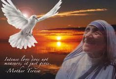 Mother Theresa!