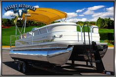 2007 Sun Tracker Party Barge 22 Pontoon Boat FOR SALE! - Stock#:39H607 - see more at: http://www.desertautoplex.com/web/used/Sun-Tracker-Party-Barge-22-2007-Mesa-Arizona/1851551/