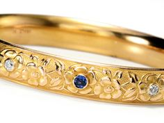 Edwardian Krementz Bangle