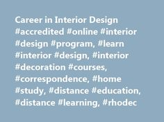 Career In Interior Design Accredited Online Program