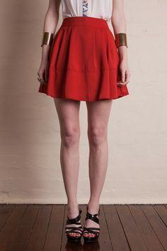 Soft High Waisted Skirt