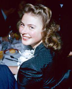 Ingrid Bergman (29 de agosto de 1915 - 29 de agosto de 1982)
