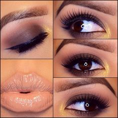 Pretty and simple every day look for the brown eyed girls #makeup #browneyedgirls #cute