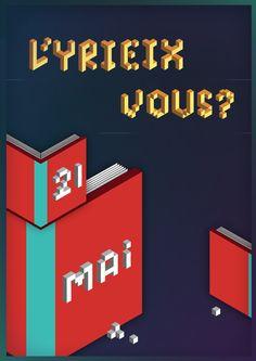 #valentin #pigeau #MMI #limoges #design #affiche #poster #yrieix