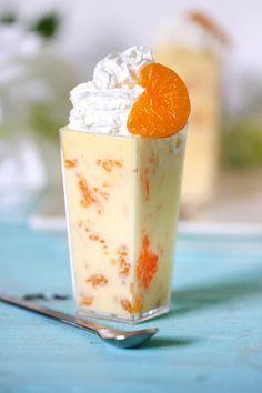 Mandarin Orange Dessert Recipes, Pineapple Dessert Recipes, Orange Recipes, Sweet Recipes, Orange Foods, Summer Dessert Recipes, Dessert Drinks, Pie Dessert, Pudding Desserts