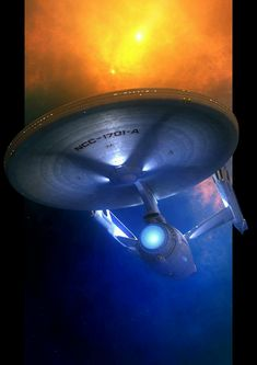 Just the Enterprise C to go and I'll have co. To seek out . Star Trek Enterprise, Uss Enterprise Ncc 1701, Star Trek Starships, Scotty Star Trek, Star Trek Tos, Star Trek Characters, Star Trek Movies, Vaisseau Star Trek, Science Fiction