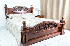 Furniture, Home, Bed Furniture Design, Bedroom Design, House Blinds, Wooden Bed Design, Bedroom Furniture Sets, Bedroom Bed Design, Furniture Design