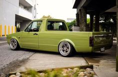 I sit too low & drive too fast, its got to be a Volkswagen or a Peterbilt, generally black &. Vw Caddy Mk1, Volkswagen Caddy, Volkswagen Jetta, Golf 1, Vw Mk1 Rabbit, Vw Pickup, Vw Group, Air Ride, Mini Trucks