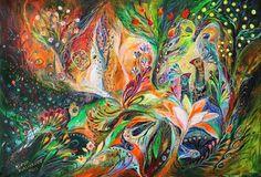 "Saatchi Online Artist Elena Kotliarker; Painting, ""The Light and Wind"" #art"