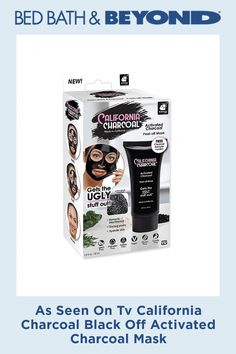 As Seen On Tv California Charcoal Black Off Activated Charcoal Mask #CharcoalMaskBenefits Activated Charcoal Mask, Charcoal Peel Off Mask, Charcoal Mask Benefits, Watermelon Pie, Aloe Vera Face Mask, Japanese Wine, Wedding Gift Registry, Unclog Pores, See On Tv