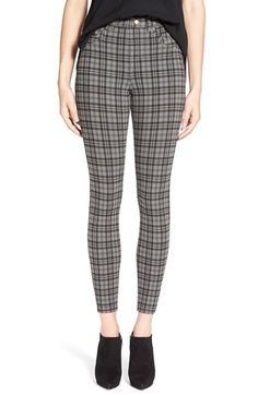 Hue Plaid Leggings available at #Nordstrom
