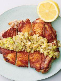 【ELLE a table】パリパリ中華チキンのねぎ塩だれレシピ|エル・オンライン