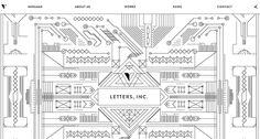 Letters inc. featured in 10 Best Portfolio Websites of May - Obeymagazine  #portfolio #webdesign   http://www.obeymagazine.com/10-best-portfolio-websites-may/