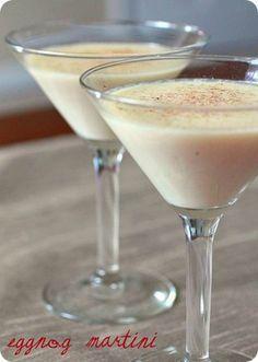 Eggnog Martini by Nutmeg Nanny