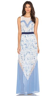 BCBGMAXAZRIA Katherine Dress in Haze Combo | REVOLVE