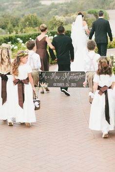 #signs  Photography: One Love Photo - onelove-photo.com  Read More: http://www.stylemepretty.com/california-weddings/2014/05/14/classic-elegant-pelican-hill-resort-wedding/