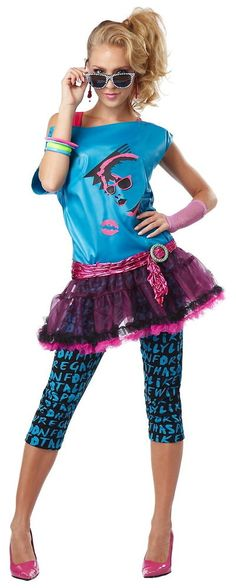 valley girl #80s party pop star katy perry cindy lauper woman costume from $28.82