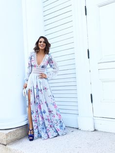 Super Vaidosa Look of the Night: Flowy Dress #wedding - Super Vaidosa