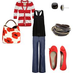 Love, love, love red and black!!
