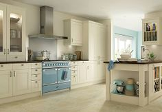 Wickes Kitchen To-Order - Love that cooker and the simplicity of the cabinets