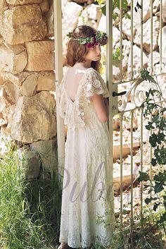 Bridesmaids and Flower girl Dresses Flower Girl Dresses Boho, Boho Dress, Lace Dress, Girls Dresses, Flower Girls, Lace Ruffle, Ruffle Skirt, Ivory Bridesmaid Dresses, Bridesmaids