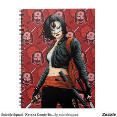 Suicide Squad   Katana Comic Book Art