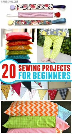 If you're just starting to sew we've got the perfect list of sewing projects for beginners for you to tackle. You'll love how they turn out.