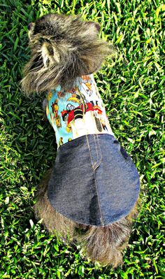 Western Dog Clothes for Small Sizes  by BloomingtailsDogDuds, $23.95