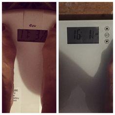 Fitter.Thinner.Happier: Wednesday Weigh In - Week 9 - Surprised Myself