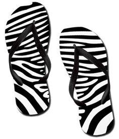 808814b93be36 19 Best Zebra Print Flip Flops images
