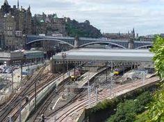 Waverley Station is the main railway station in the Scottish capital Edinburgh