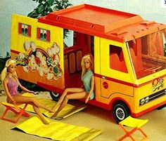 Barbie Country Camper - I had this in the early 70s
