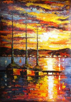 Abstract Oil Painting Painting