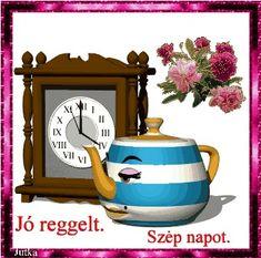 Good Morning, Clock, Buen Dia, Watch, Bonjour, Clocks, Good Morning Wishes