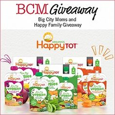 BCM Weekly Giveaway: Happy Family Prize Pack for You and a Friend