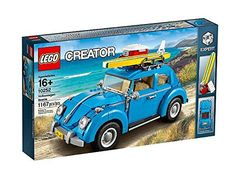 Celebrate the iconic VW Beetle with this awesome LEGO® Creator Expert reproduction. This detailed model comprises a number of special features and elements that help recreate the distinctive Beetle c...