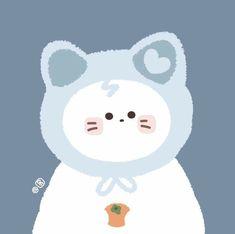 Soft Wallpaper, Kawaii Wallpaper, Cute Cartoon Drawings, Cute Doodles, Kawaii Art, Cute Bears, Aesthetic Stickers, Cute Cartoon Wallpapers, Cute Icons