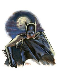 Batman by Joe Quinones. (via iFanboy)