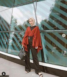 Modest Fashion Hijab, Street Hijab Fashion, Casual Hijab Outfit, Hijab Chic, Casual Outfits For Teens, Simple Outfits, Hijab Fashion Inspiration, Style Inspiration, Mode Hijab