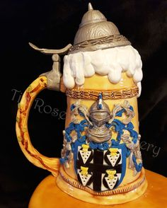 1000 Images About Steins On Pinterest German Beer