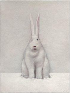 shao fan(1964), snow rabbit, 2011. edition of 70. print, 100 x 77 cm. galerie urs meile beijing/lucerne http://galerieursmeile.com/artists/artists/shao-fan/snow-rabbit-2011/workdetail.html?cHash=7a50b6c2880474960cc9530d8861625a