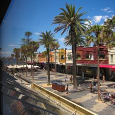 A view of The Corso and Manly Beach from Painters' Gallery Manly Beach, East Coast, Old And New, Painters, Old Photos, Beaches, Sydney, Beautiful Places, Street View