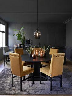 spisestoler | Hus innredning, Dekorasjon, Rundt spisebord