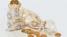Hanukkah Gelt Background