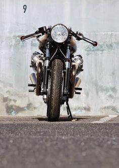 Cafè Racer Culture: Paul's Bike