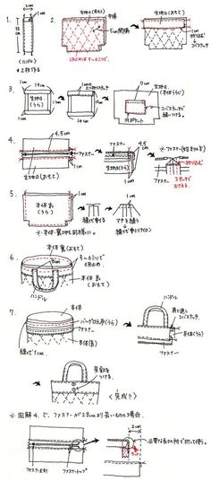 手作り雑貨の作り方 | スタジオクリップ > ランチバッグの作り方