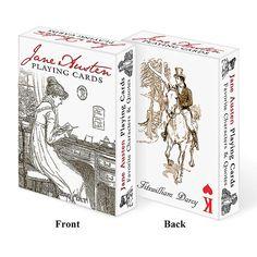 Literary Playing Cards - Jane Austen at Bas Bleu | UK4462