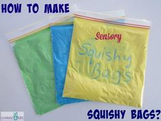 How+to+make+sensory+squishy+bags+for+pre-writing+activities.